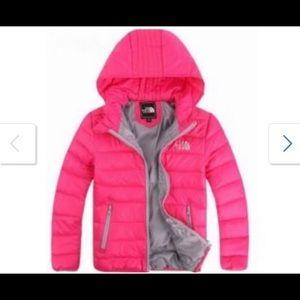 North face girls coat